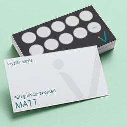 Loyalty Cards Matt
